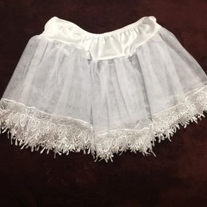Other - Lace Trim Short Petticoat 🎃 👻